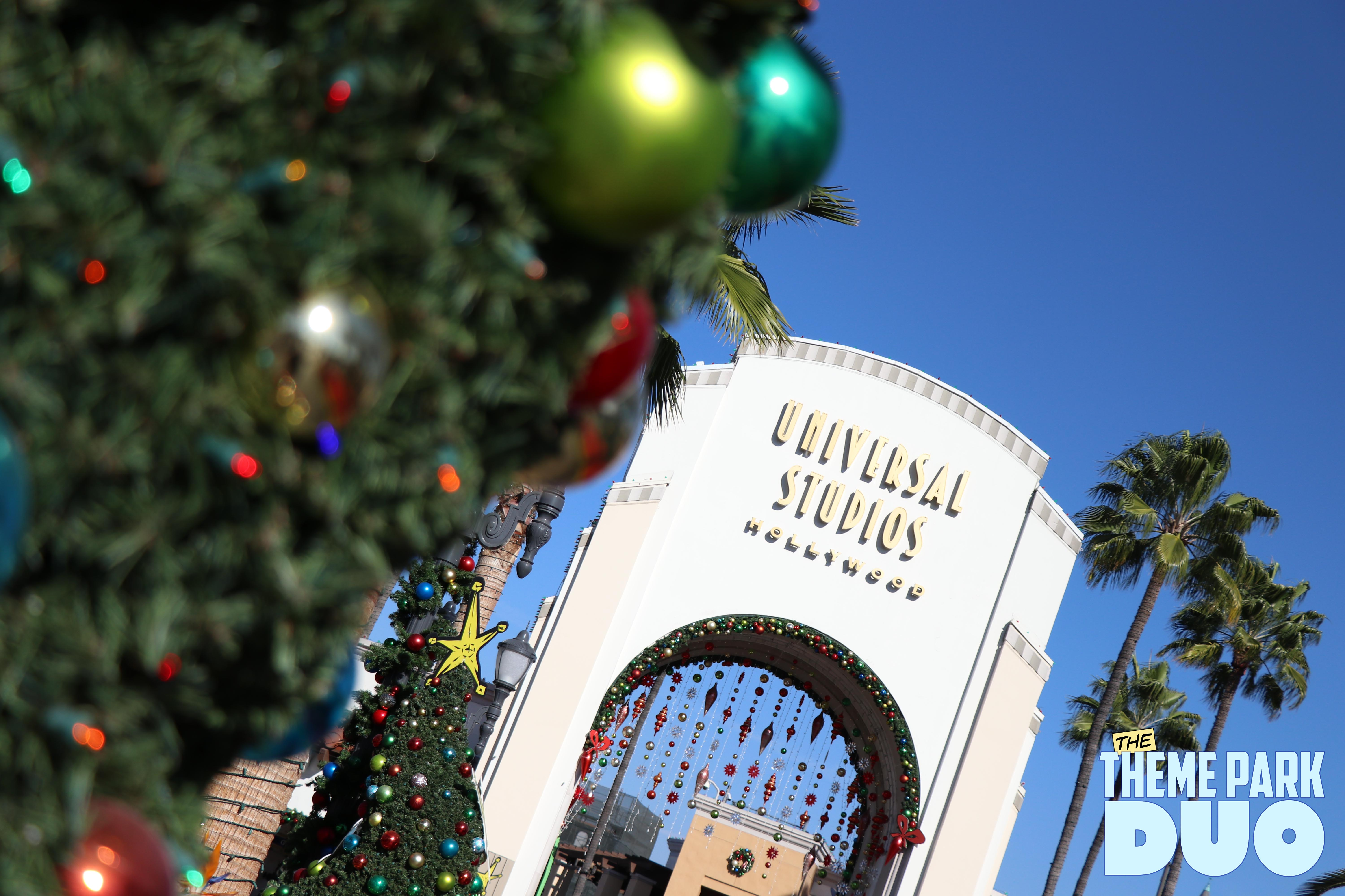 we hope you enjoy this visual journey to universal studios hollywood in a special holiday edition of a visit in pictures - When Does Universal Studios Hollywood Decorate For Christmas
