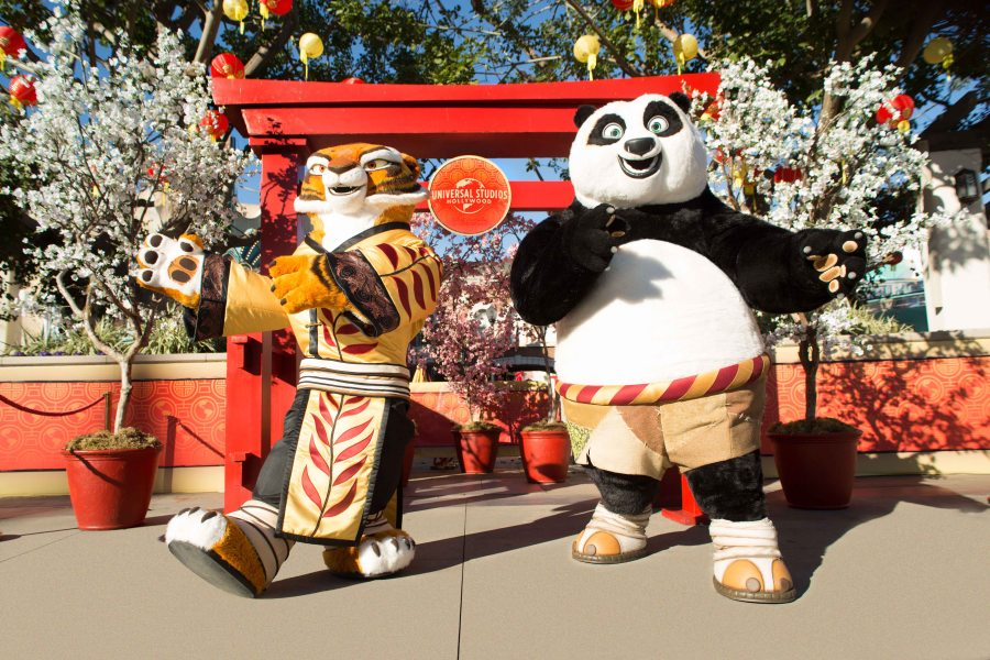 universal studios hollywoods all new lunar new year event