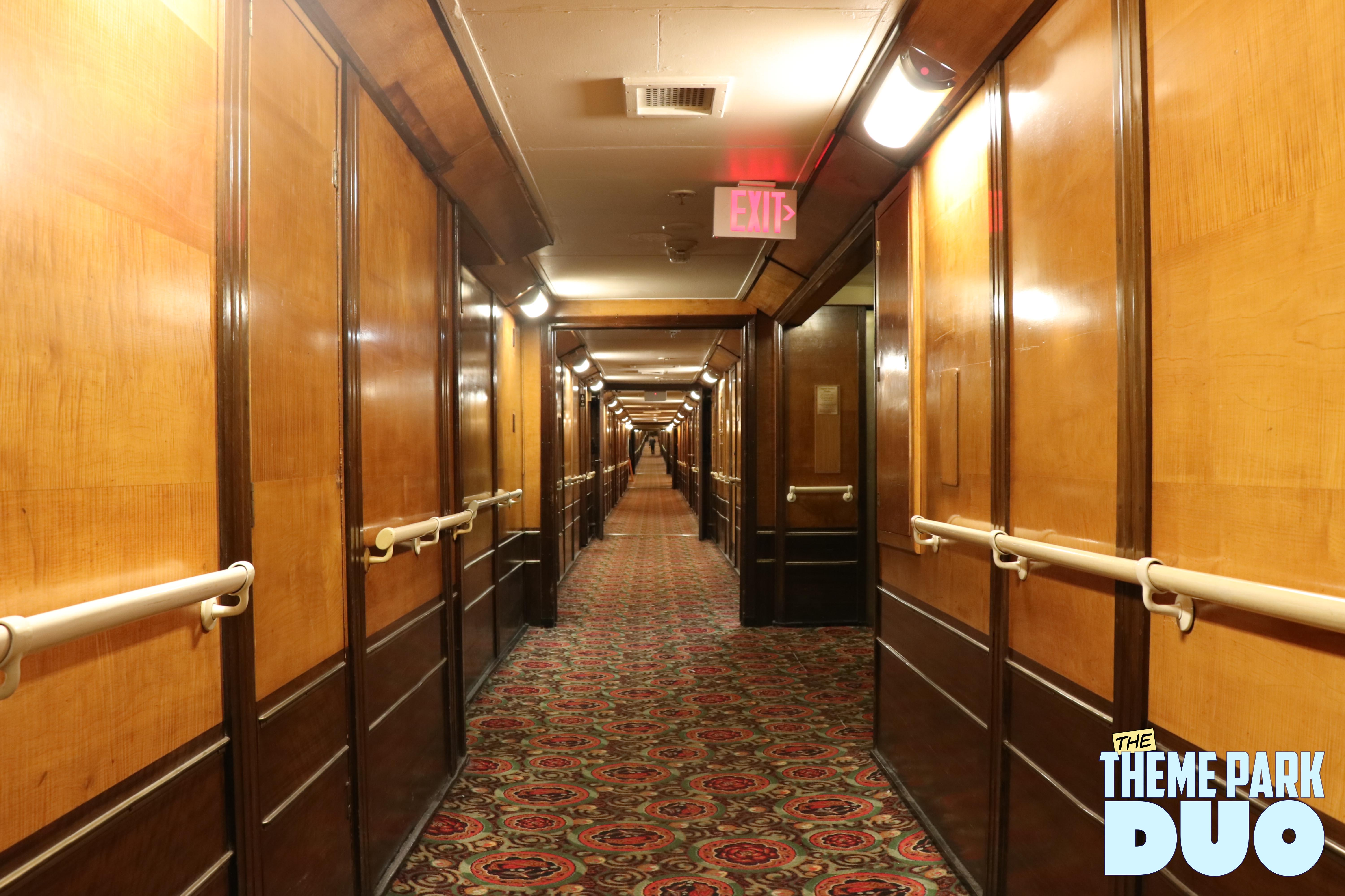 The Queen Mary Showcasing Its Haunted History And Ghostly