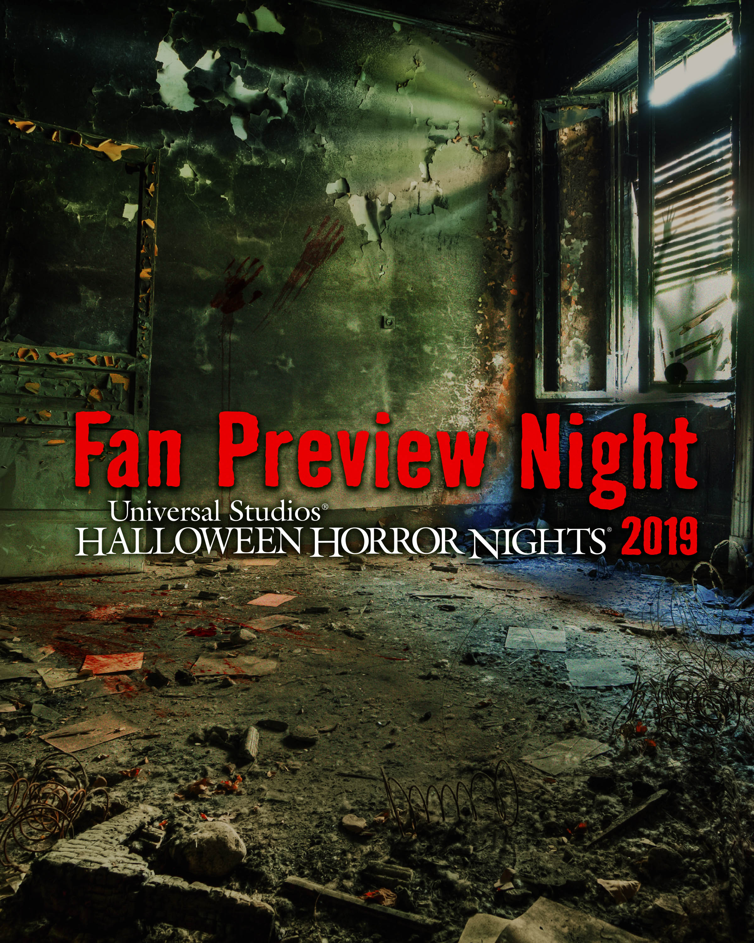 Universal Studios Halloween Horror Nights 2019.Hhn Hollywood Debuts Fan Preview Night For 2019 Theme Park Duo