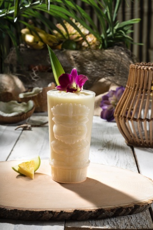 Pina Colada drink from Isla Nu-Bar at Universal Studios Hollywood