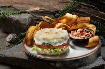 Isla Burger from Jurassic Cafe at Universal Studios Hollywood