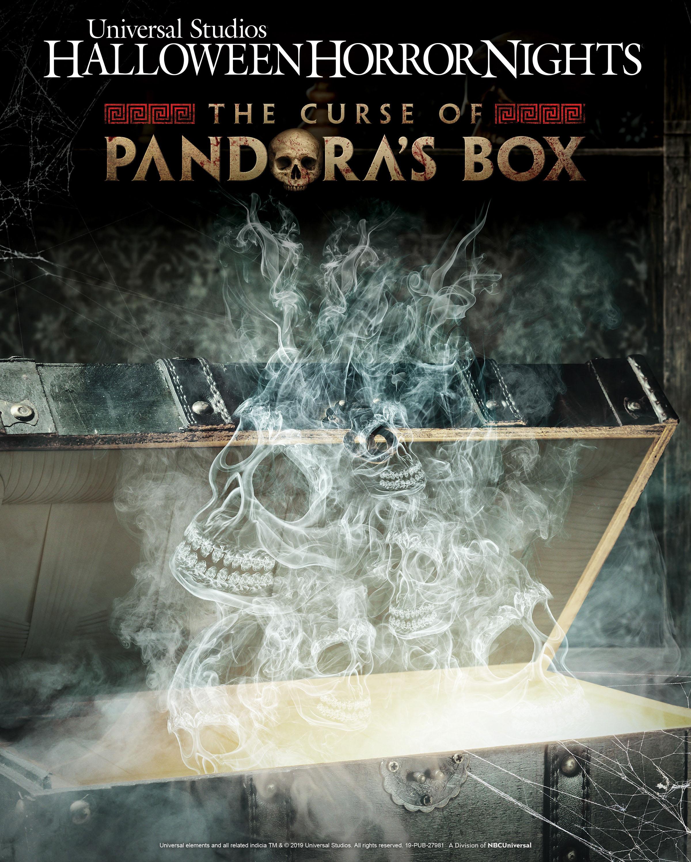 Universal Studios Halloween Horror Nights 2019 Theme.Universal Studios Hollywood Swings Open The Curse Of Pandora S Box