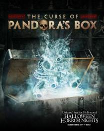 Curse of Pandora's Box maze at USH-HHN 2021