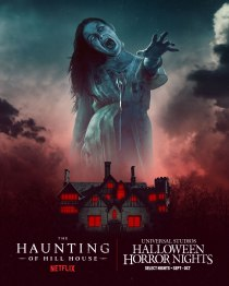 Haunting of Hill House maze at HHN 2021