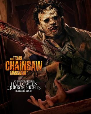 Texas Chainsaw Massacre maze at HHN 2021