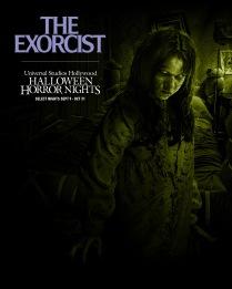 The Exorcist maze at USH-HHN 2021